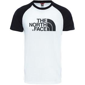 The North Face Raglan Easy Lyhythihainen T-paita Miehet, tnf white/tnf black